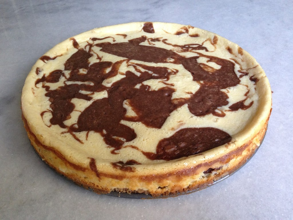 What's for Dinner: Chocolate Hazelnut Swirl Cheesecake | From My ...